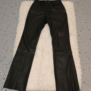Wilson's Brown Leather Pants sz 4